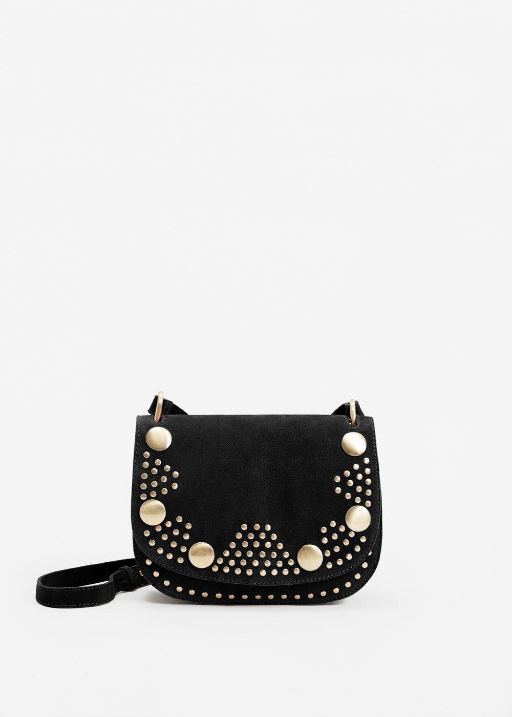 Stud Leather Crossbody Bag £59.99 at Mango
