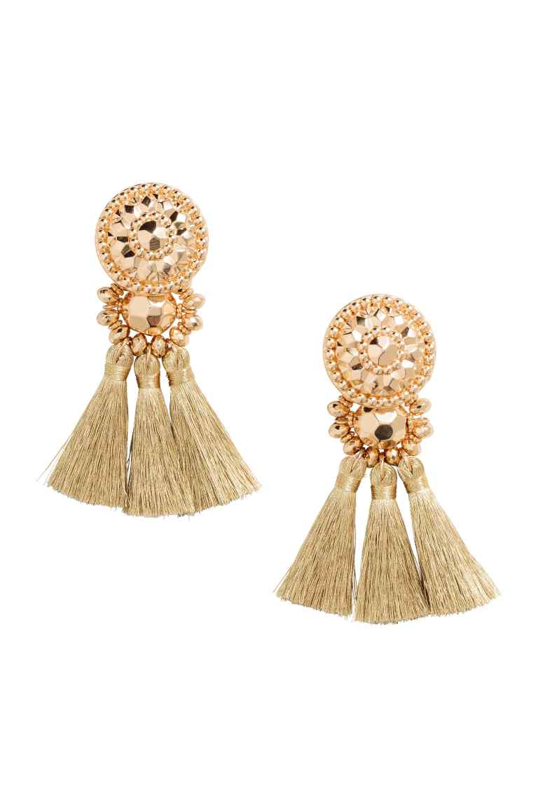 Earrings with Tassels £7.99 at H&M