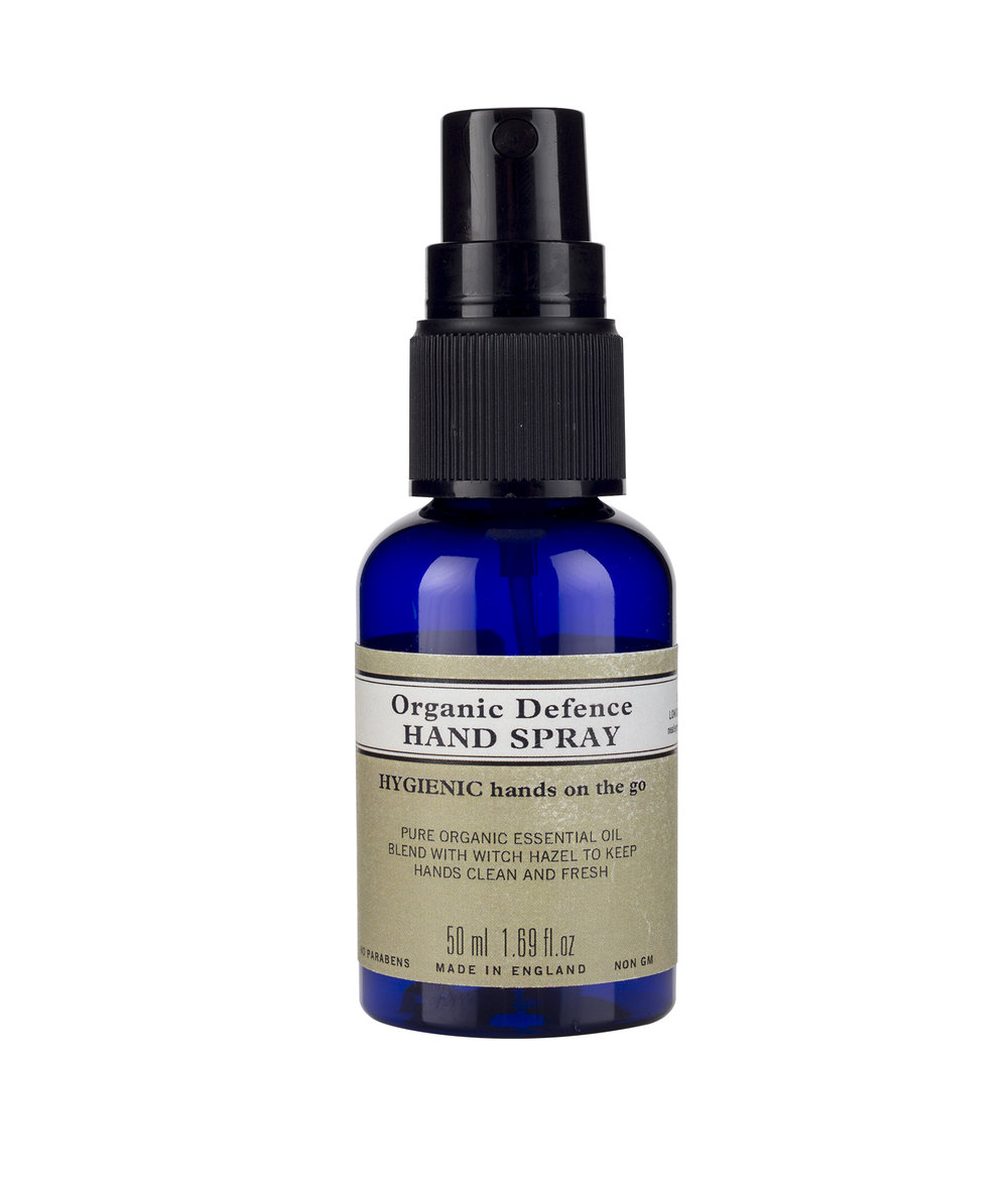 Organic Defenc Hand Spray £6.50 at Neal's Yard Remedies