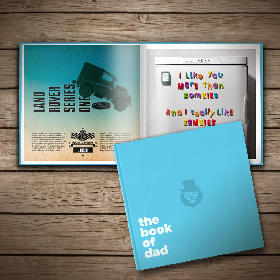 The Book of Dad from £23.95 at The Book of Everyone