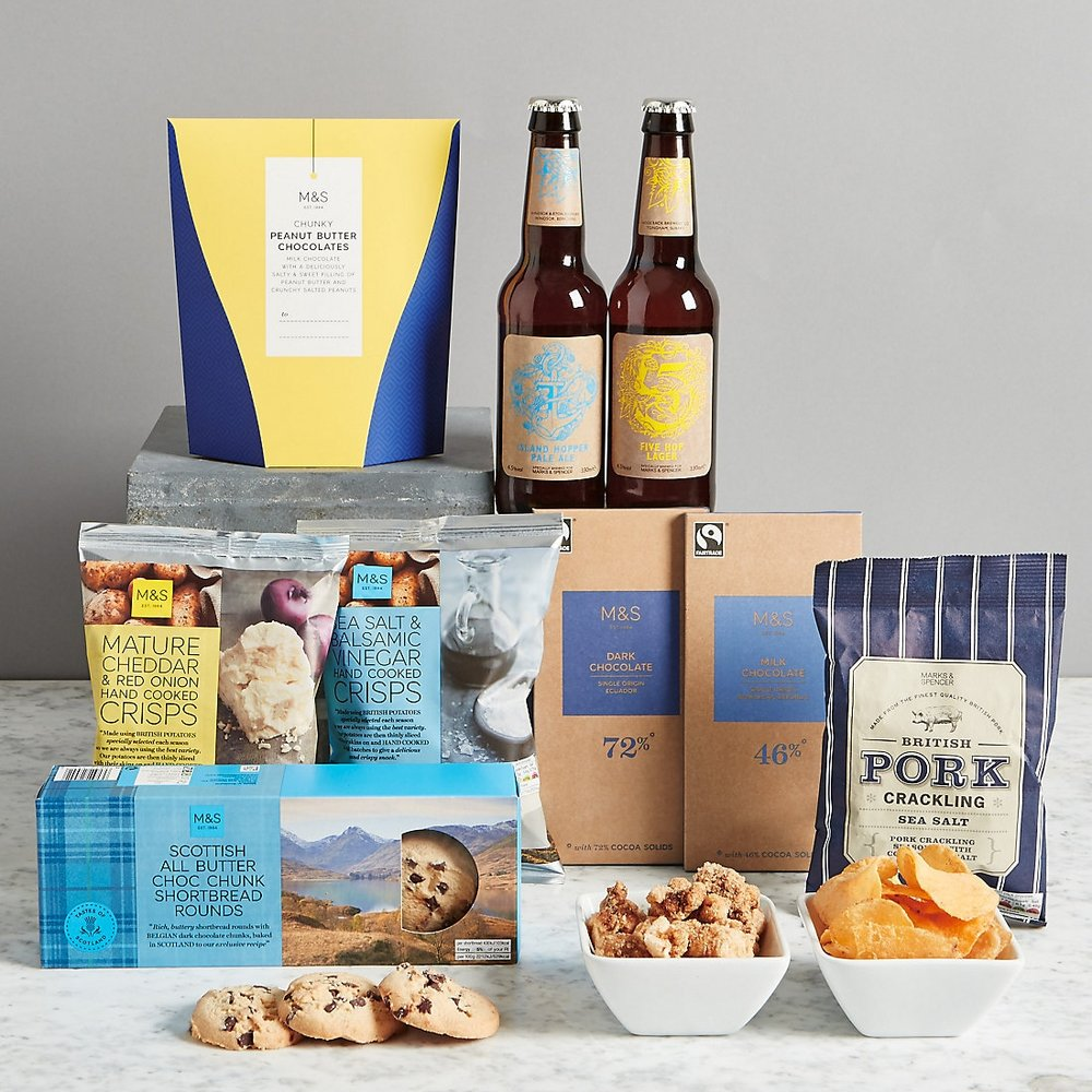 Father's Day Snack Box £25.00 at M&S