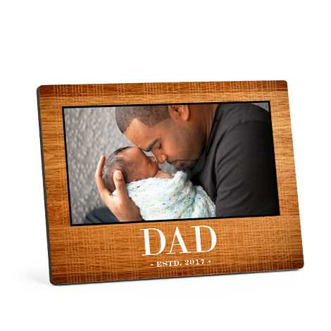 Personalised Wood Photo Panel from £9.99 at Snapfish