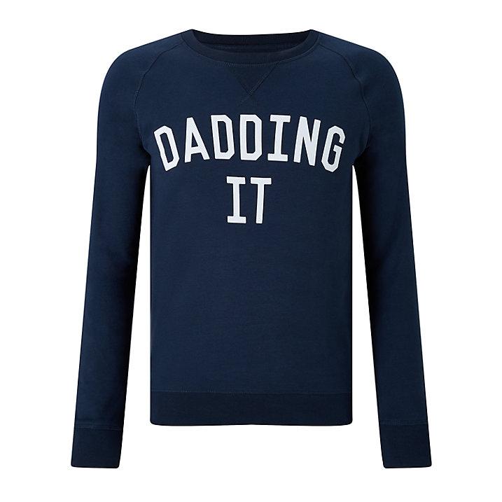 Selfish Mother 'Dadding It' Sweatshirt £50.00 at John Lewis