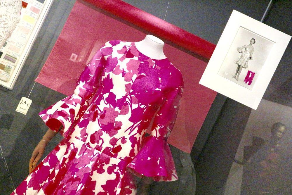 Lantern Sleeve Dress -Silk Gazar 1968