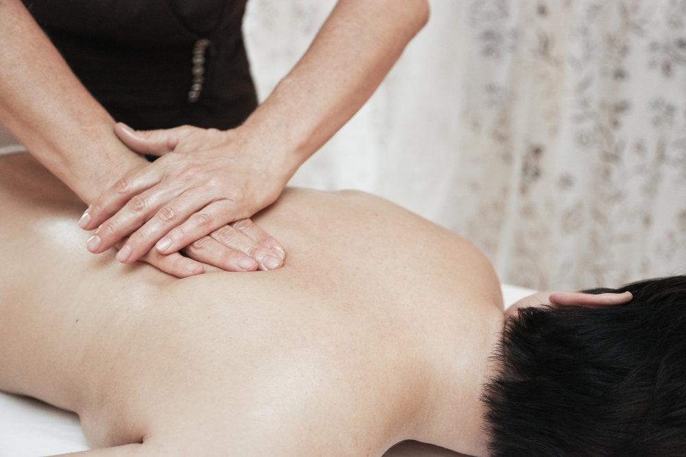 Eine entspannende Massage