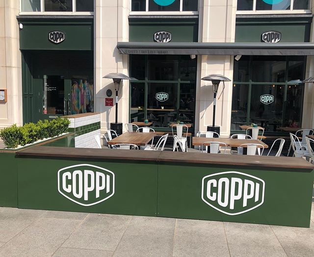 We are open from 12pm today. The perfect excuse to come enjoy lunch or dinner Al Fresco.  For bookings www.coppi.co.uk or just pop by! 😉  @cqbelfast #belfast #easter #bankholiday #lunch