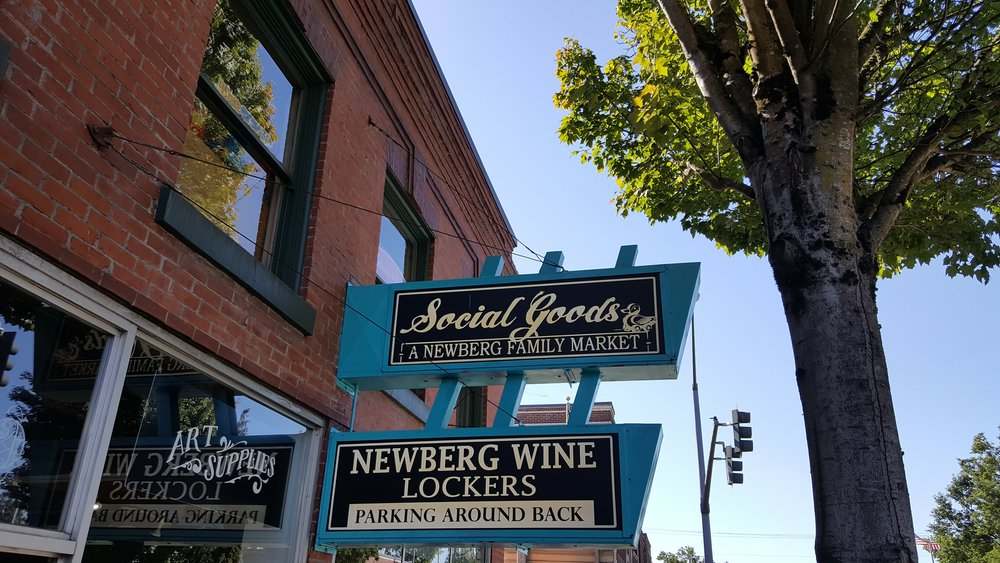 Social Goods Market - Newberg- Such a pleasant country store with elevated and bespoke product