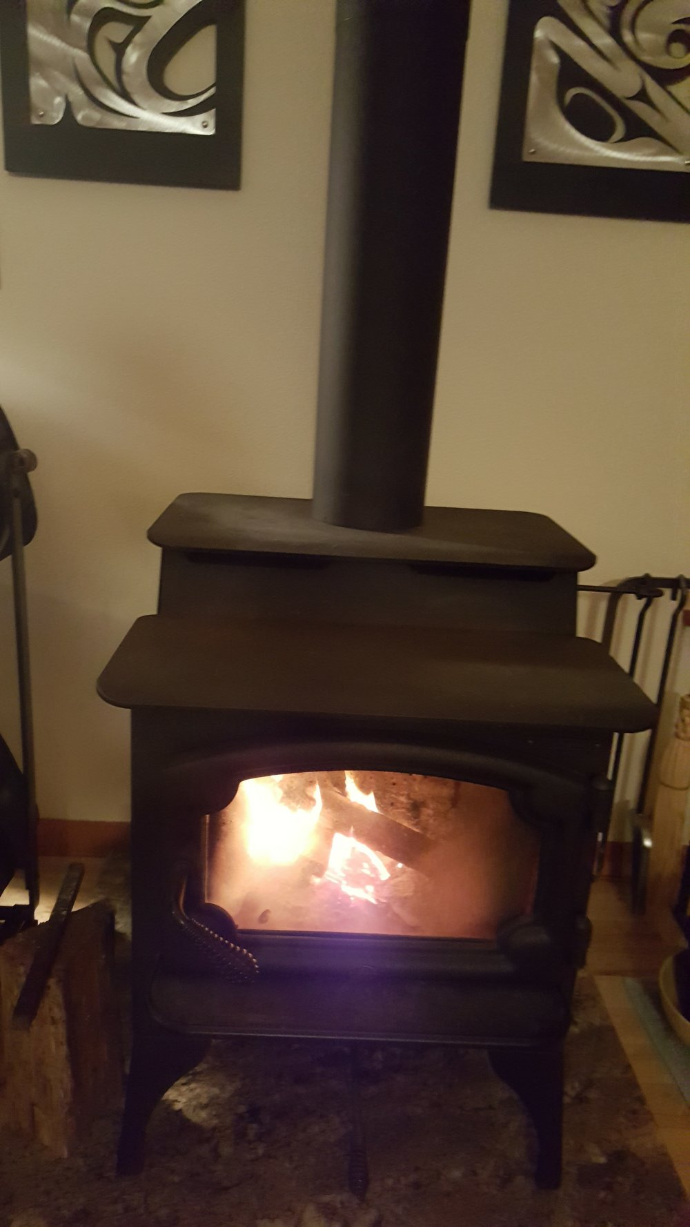 Wood stove is the epitome of Hygge