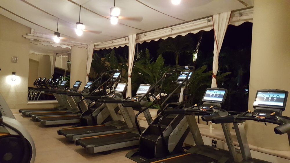Running every morning at Four Seasons - what a view of the ocean!