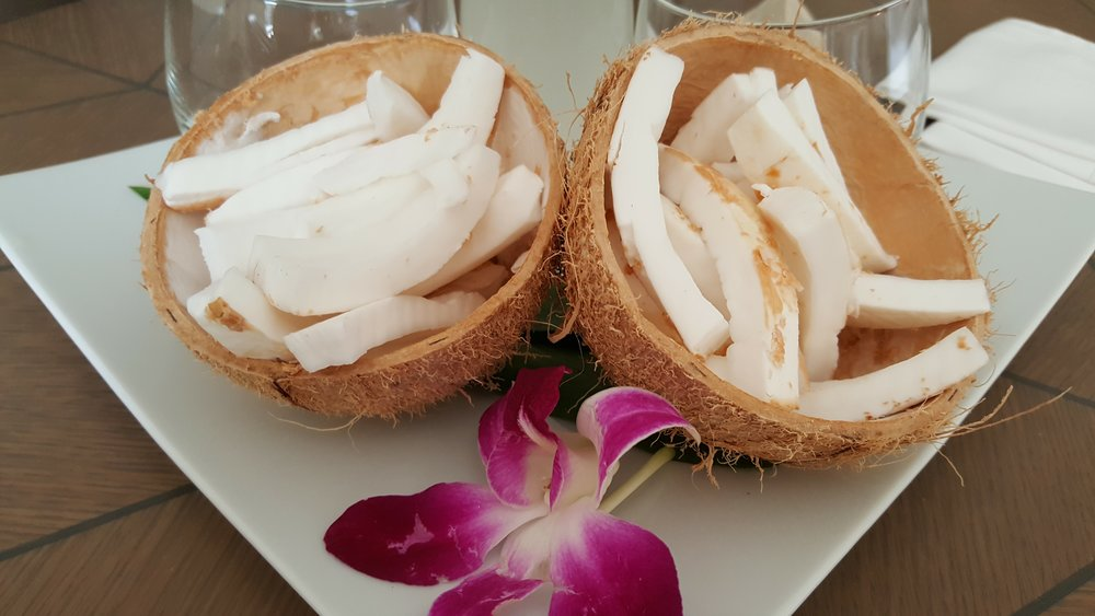 Fresh coconut meat
