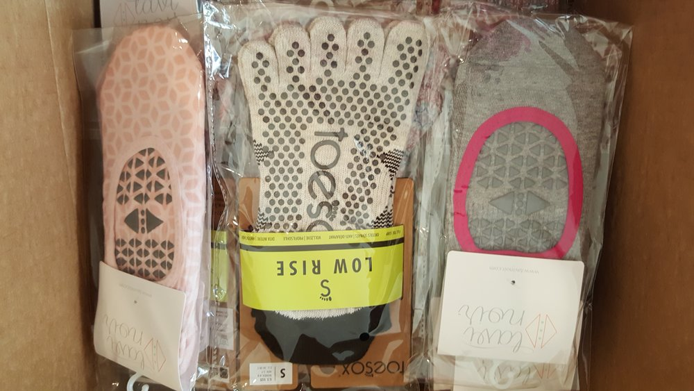 I am obsessed with Toesox! when this box came in, I was elated!