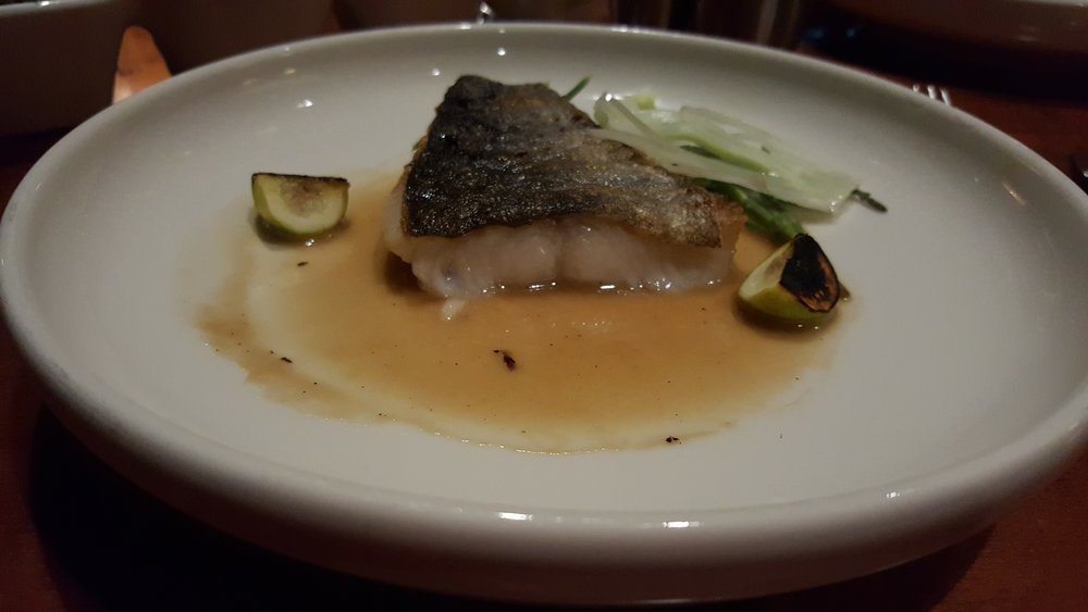 Ling Cod entree
