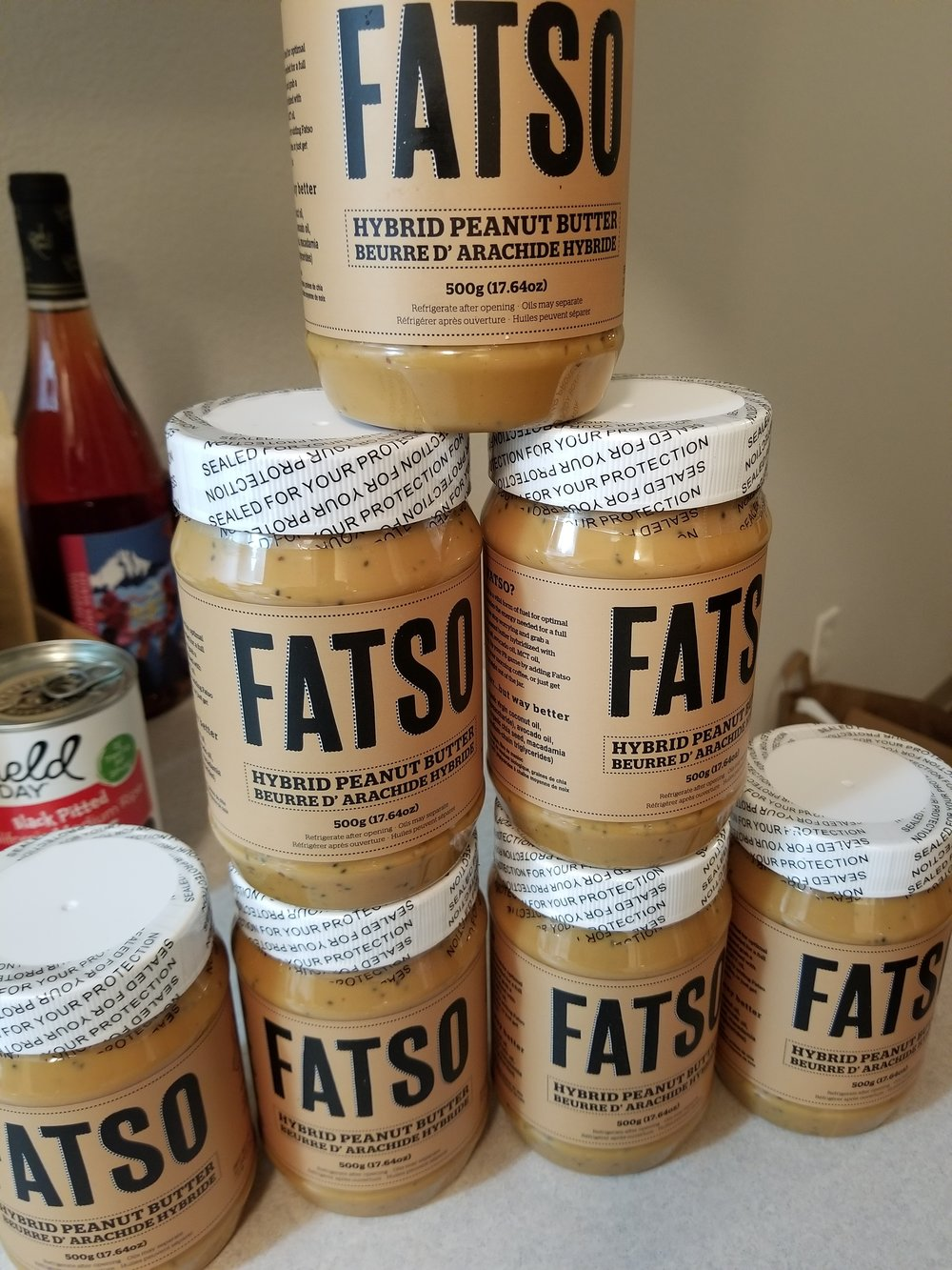 I discovered this peanut butter brand in Victoria, British Columbia. All loaded with healthy fats and chia seeds - no sugar added