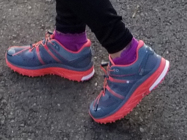 My Mammut trail sneakers are perfect for trail runs.
