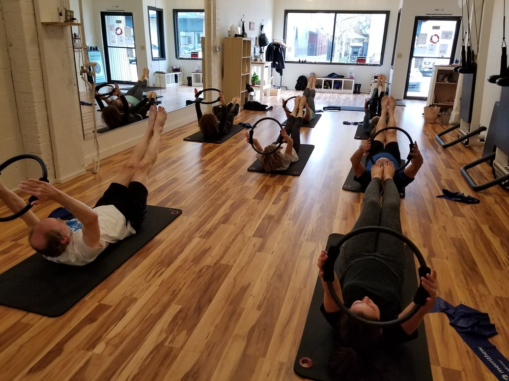 Group Fitness classes like Yoga and Pilates are on the rise.