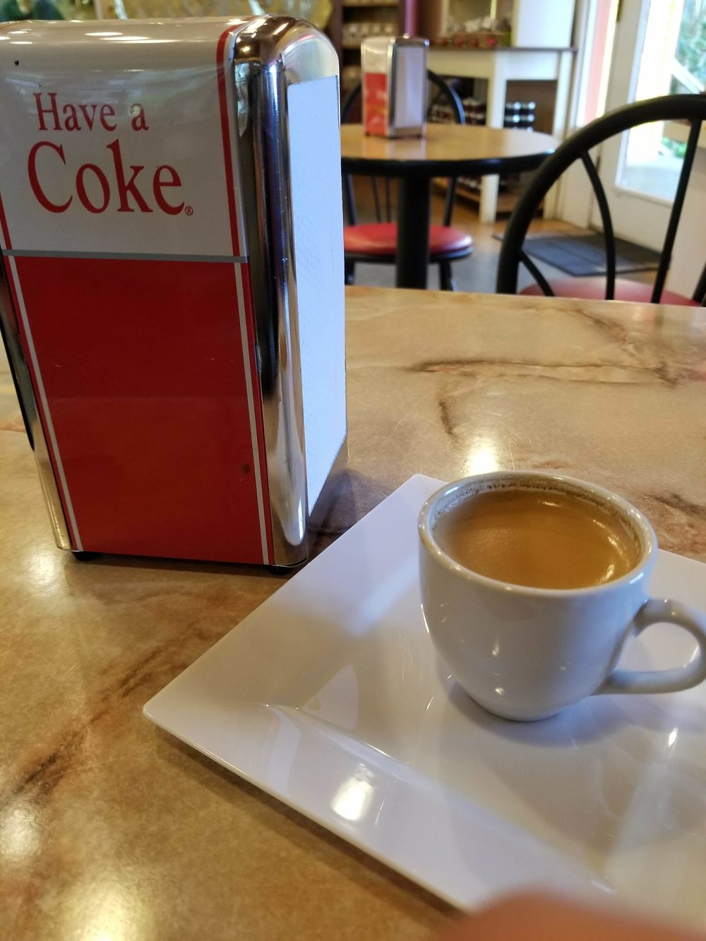 Sometimes just an espresso is enough...