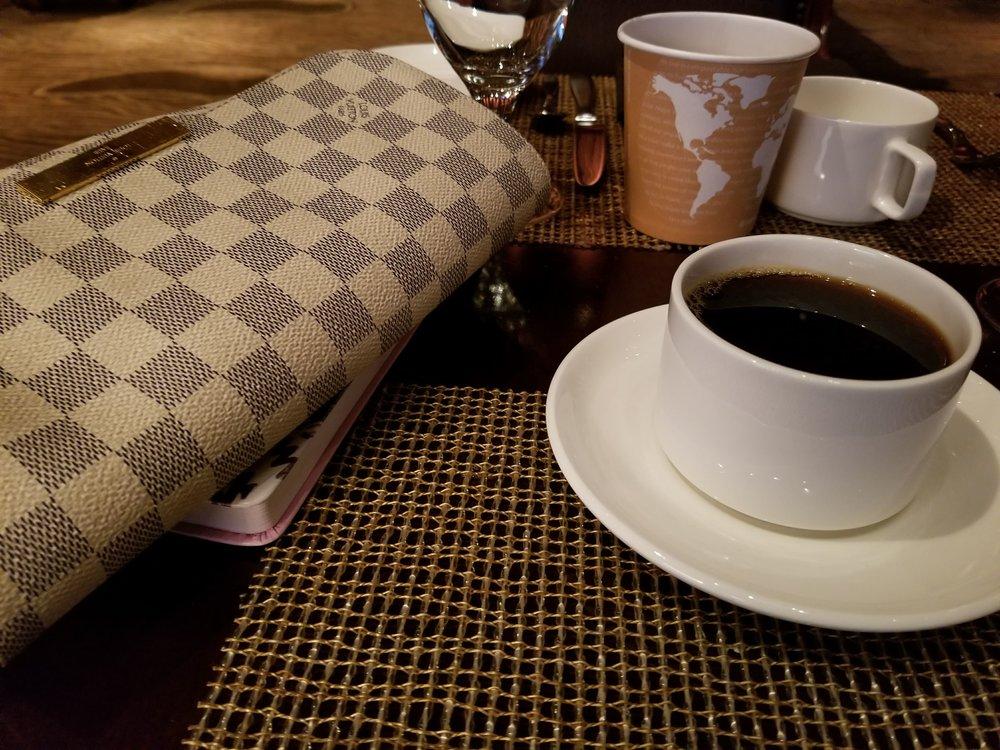 Black Coffee is always a must