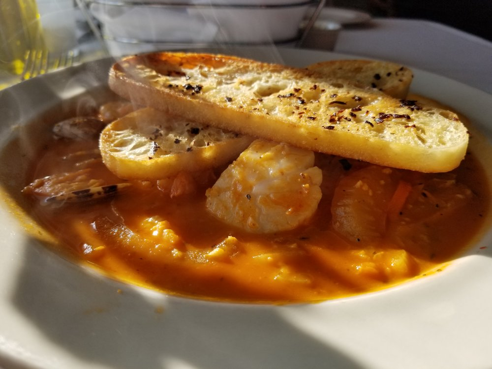 Seafood stew from Salt and Stone is hearty and delicious