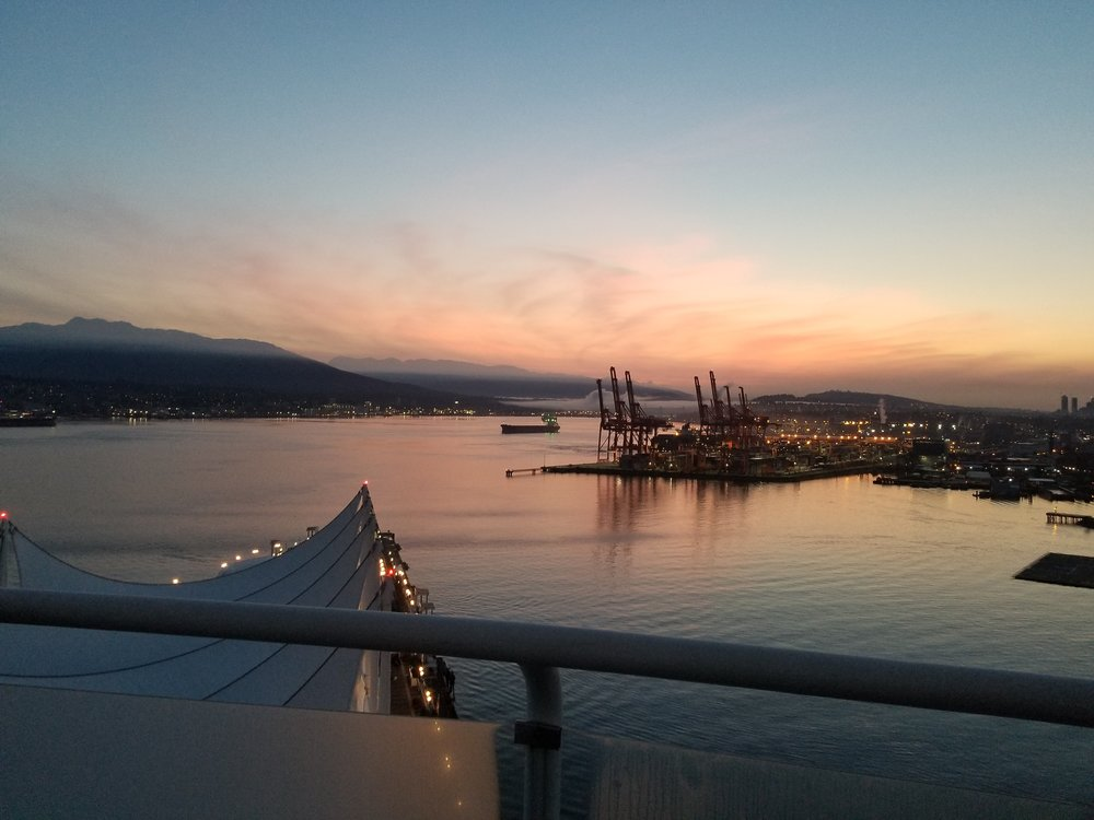 Beautiful Pan Pacific Vancouver is right on the water and the hub of activity