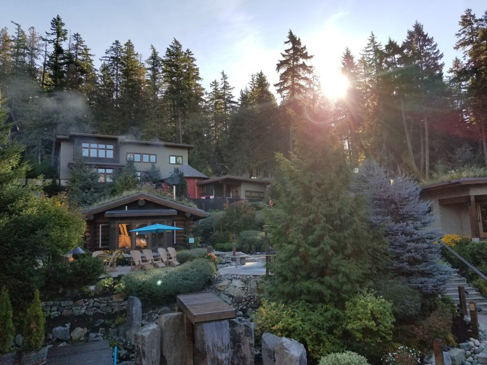 The Scandinave Spa is the one of its kind in beautiful Whistler, BC