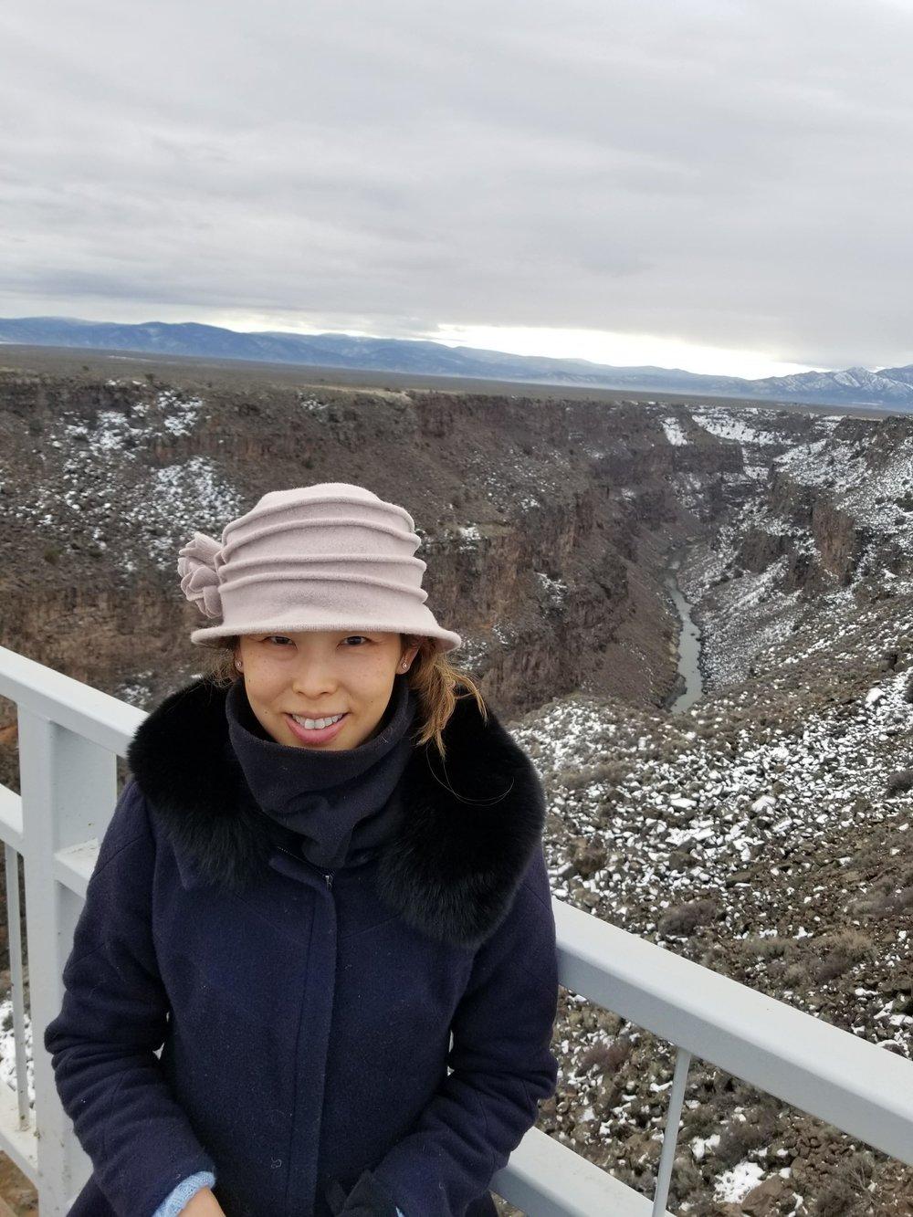 The Rio Grande River Gorge has amazing views