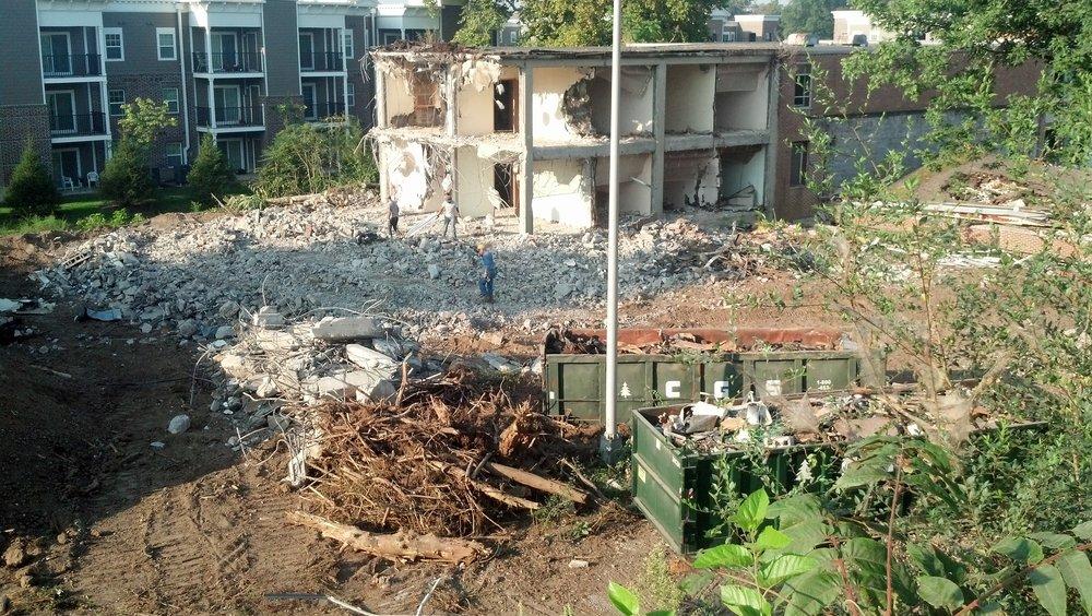 58/Bahr Building Site (August 2015)