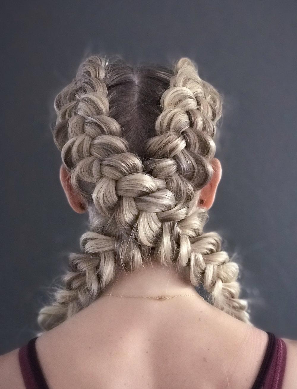 Shapeup convention, gym braids.