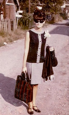 Me the day I left for Europe in 1967