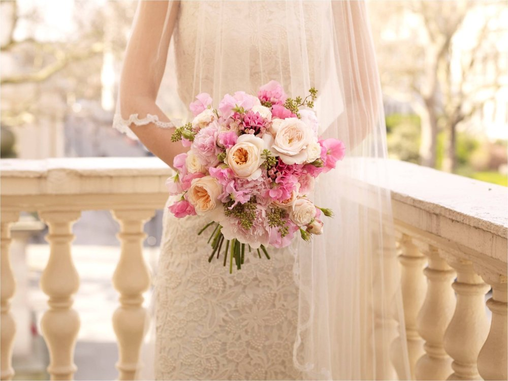 Pink DA roses, lilac and bouvardia bouquet.jpg