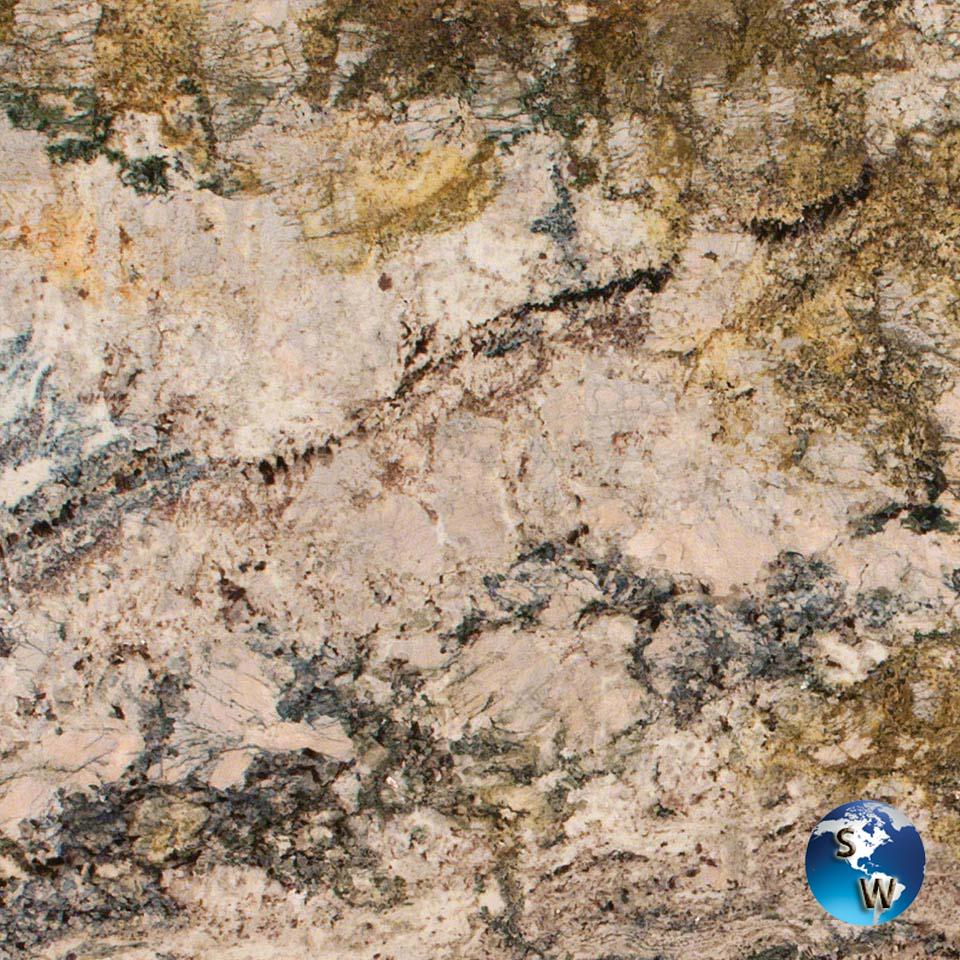 Azurite-Granite