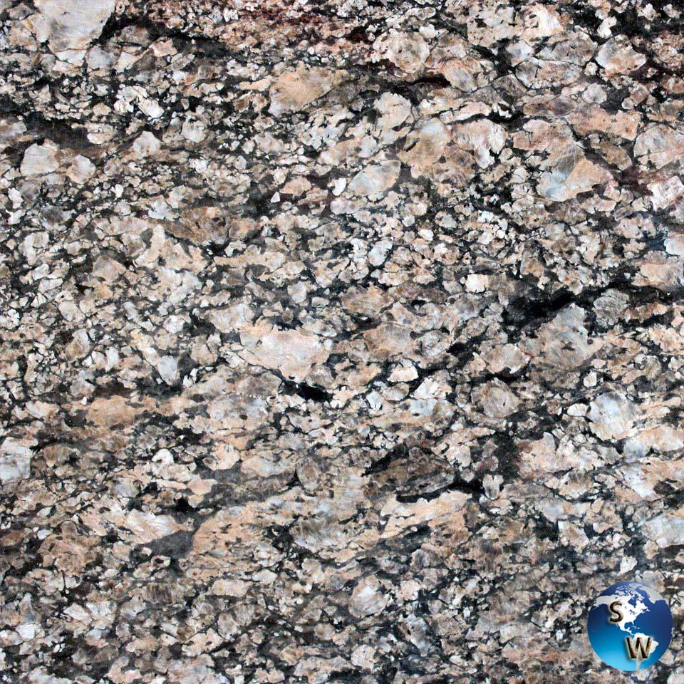 Coral-Gold-Granite