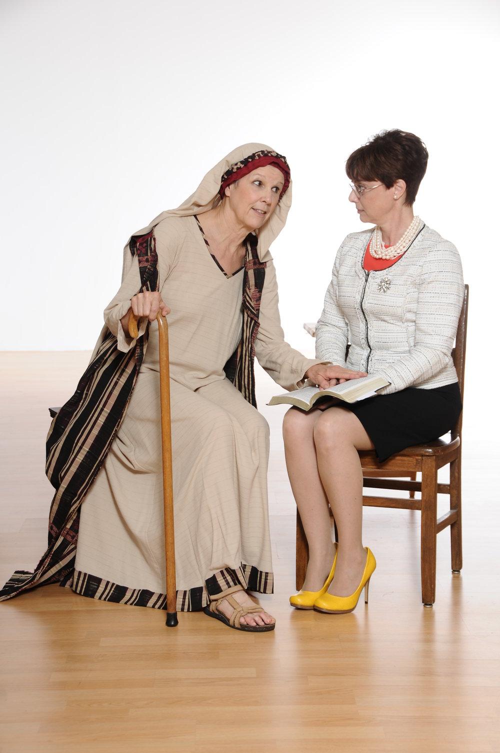 Miriam & Dorothy Sitting.JPG