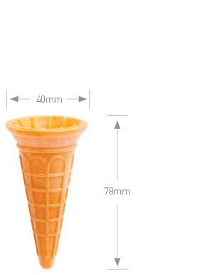 Mini Ice Cream Cone
