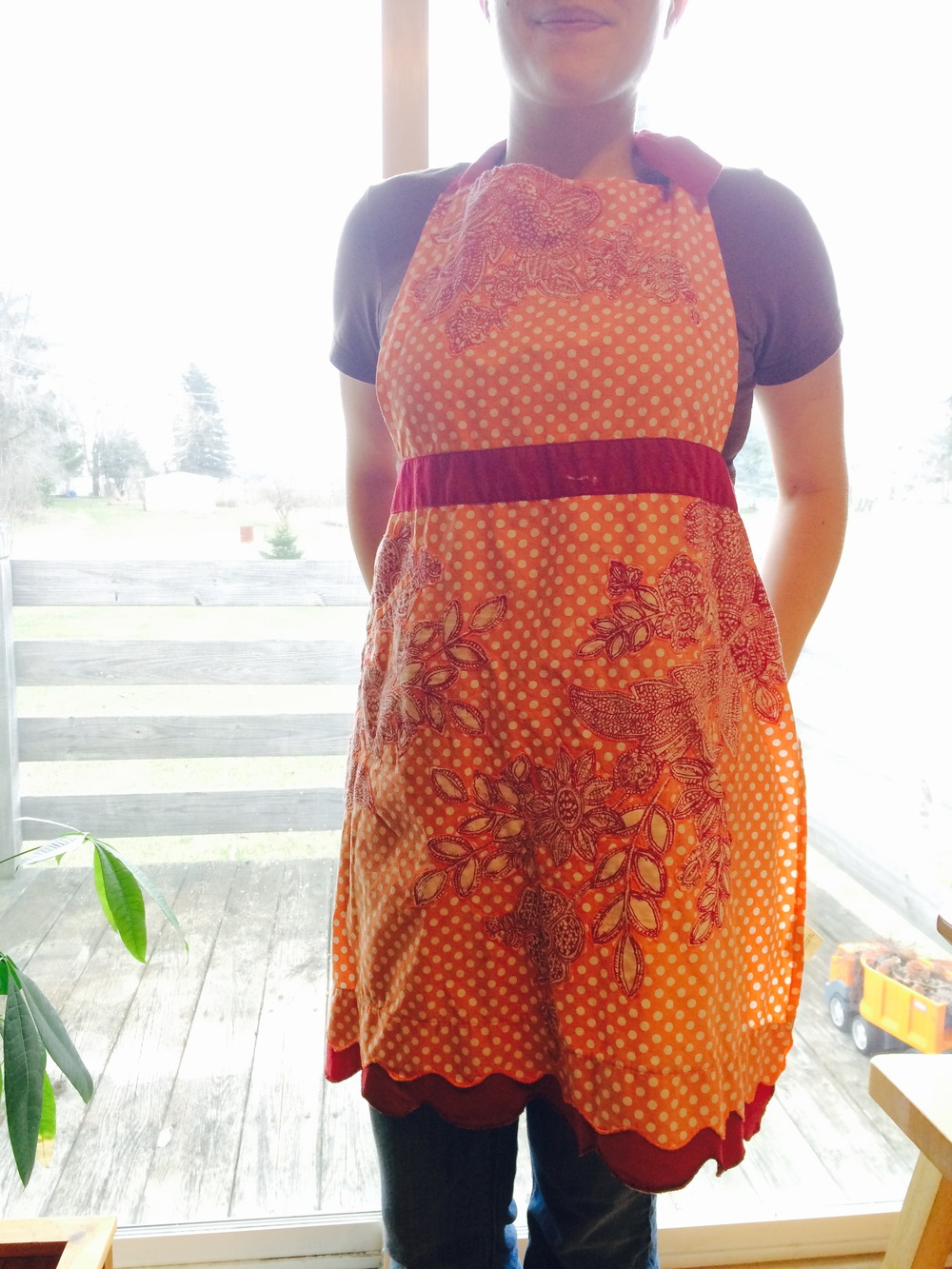 Aprons are highly recommended.