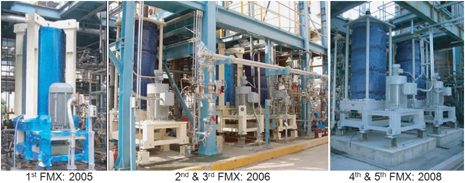 Full Scale FMX Systems Installed at Samsung Fine Chemicals for Polymer Wastewater Treatment