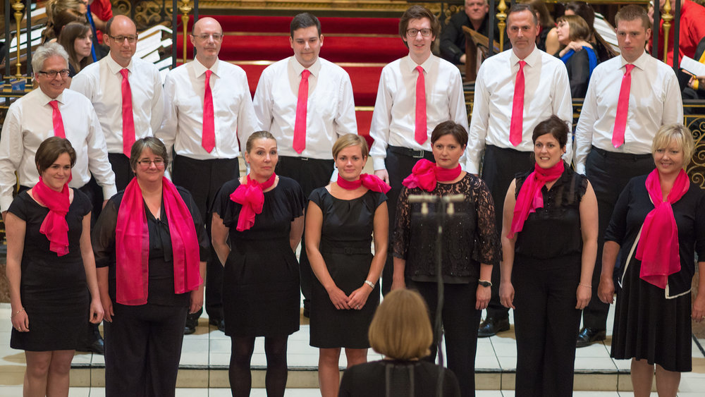 Stevens and Bolton Office Choir