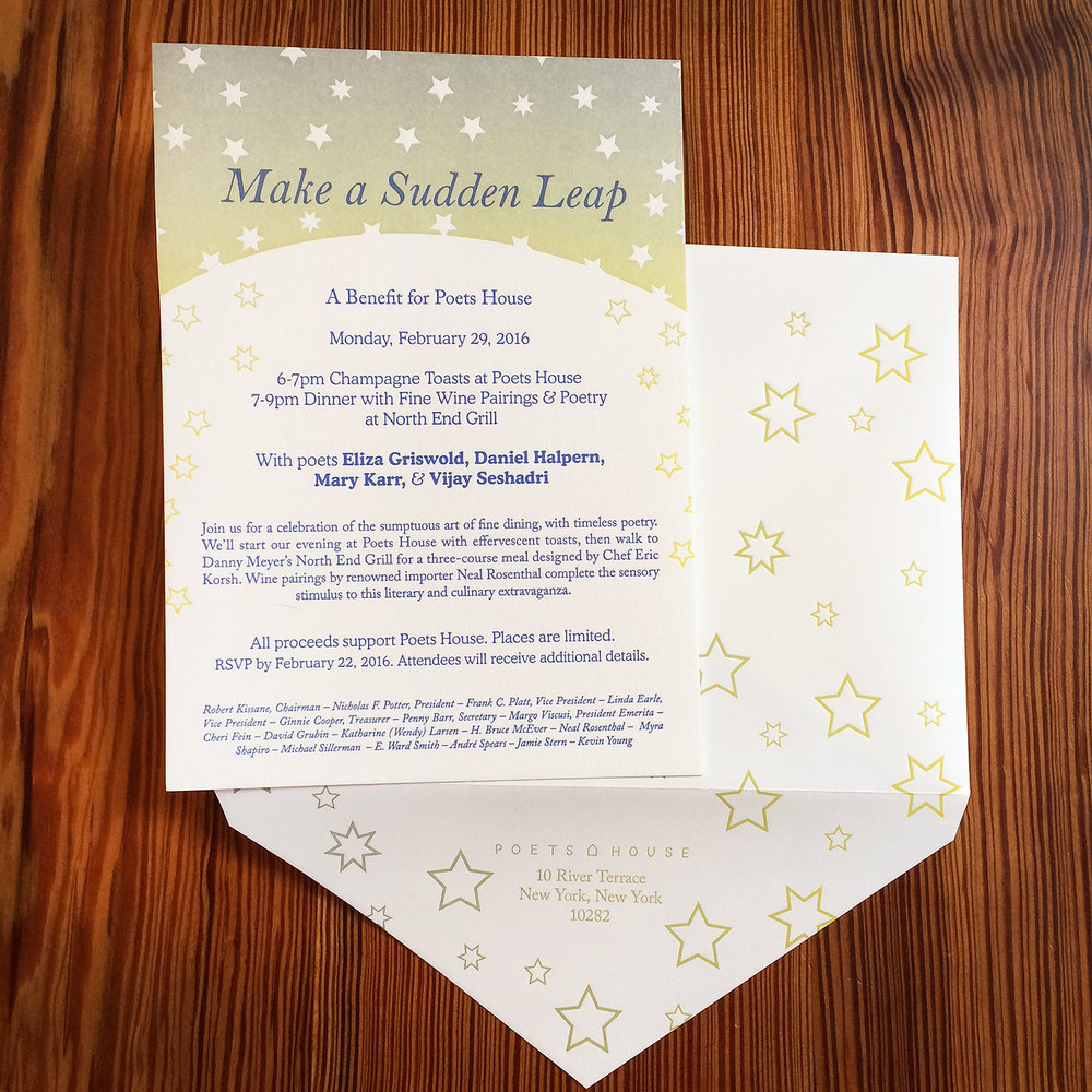 Poets House Sudden Leap - Letterpress Invitation.jpg