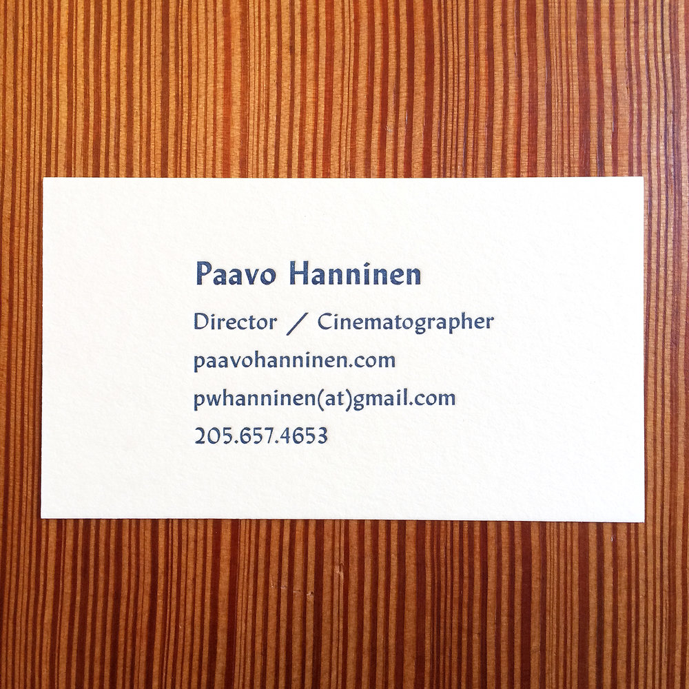 Paavo Hanninen - Letterpress Business Card.jpg