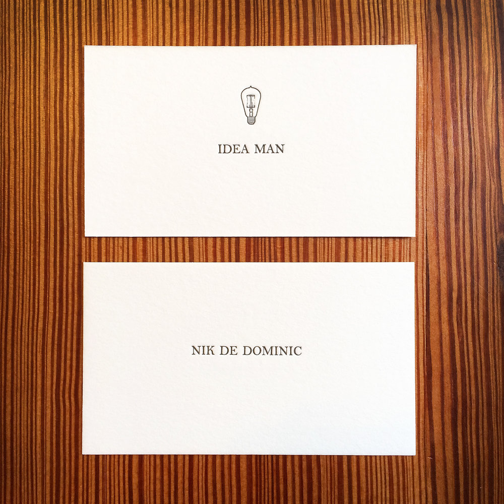 Idea Man - Letterpress Calling Card.jpg