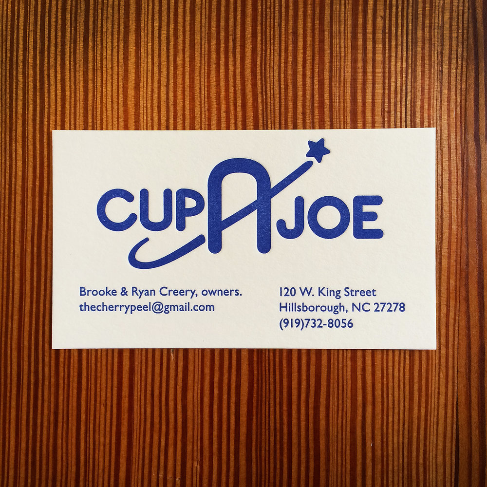 Cup-A-Joe - Letterpress Business Card.jpg