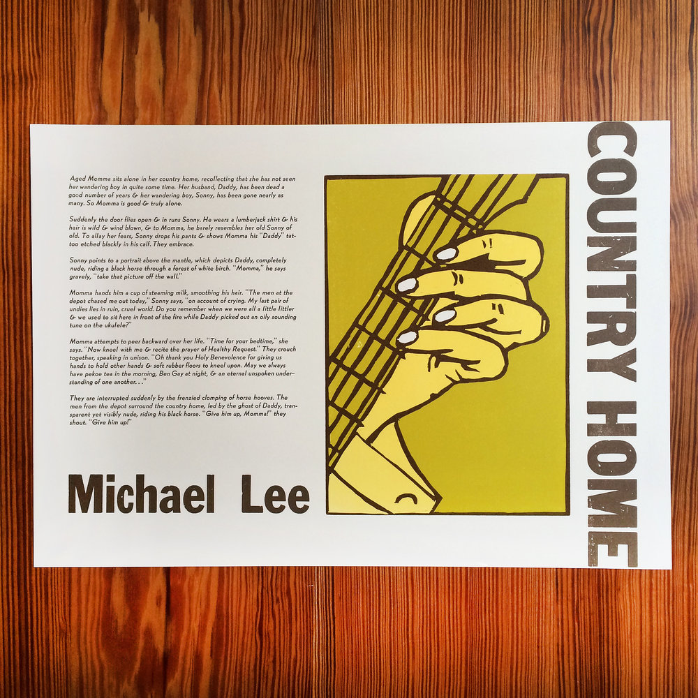 Michael Jeffrey Lee - Country Home - Letterpress Broadside.jpg
