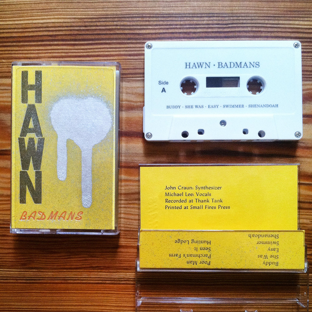 Hawn - Cassette Tape - Letterpress Cover.jpg