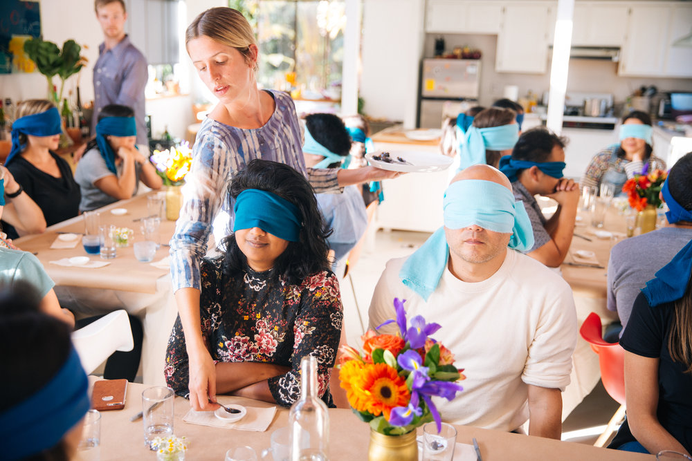 IDEO  Culinary Color Retrospective Blind Tasting, in Collaboration with Hoste Productions, September 2018