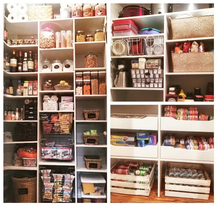Custom pantry storage by Closets of Tulsa makes space for everything you need to store.