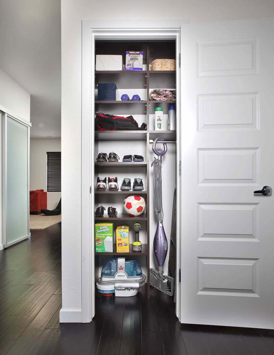 Hall Closet Organizer by Closets of Tulsa