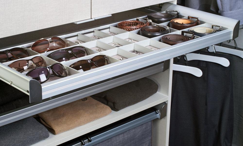 Closets of Tulsa TAG Hardware Closet Organizer Drawer