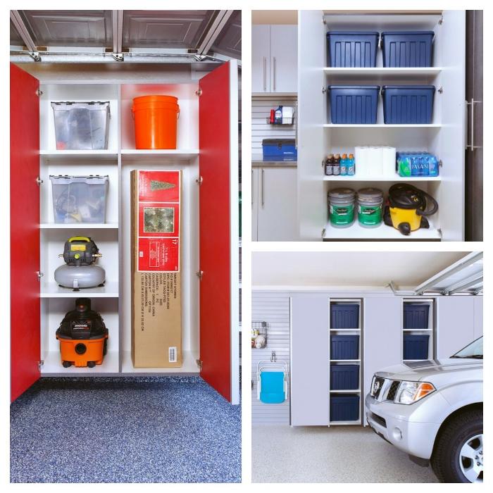 Custom Garage Cabinets by Closets of Tulsa