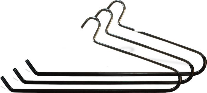 Use promo code TULSA for 15% off these oversized vinyl coated metal quilt hangers at  Hangers.com .