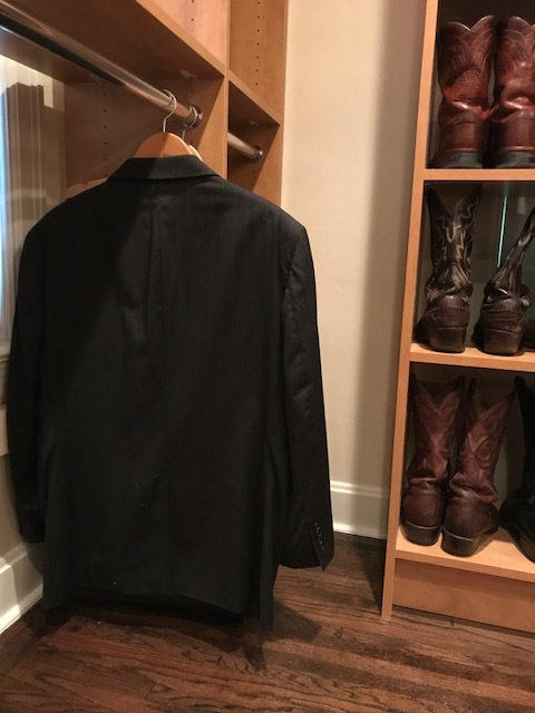 Mens Clothing and Boot Storage Closet by Closets of Tulsa