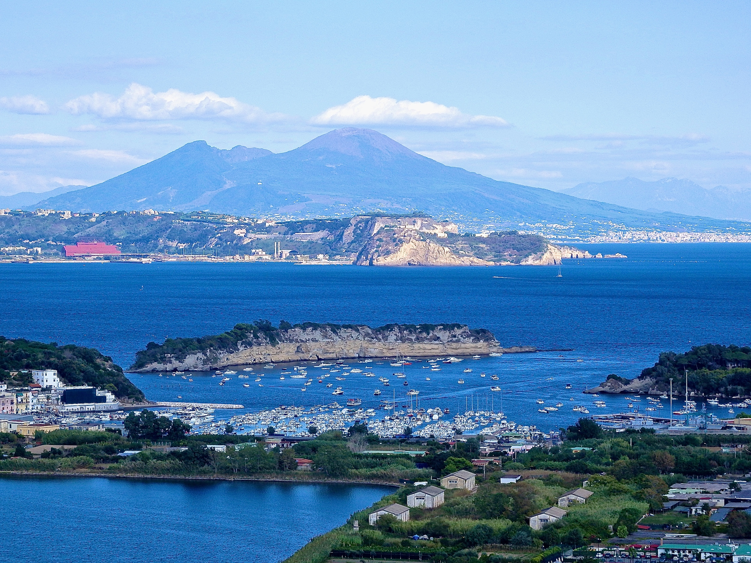 The Bay of Naples ~Baiae, Naples and Vesuvius (Photograph taken by Susan Nelson)
